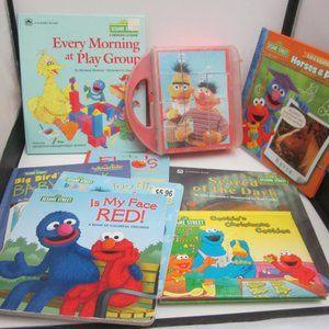Sesame Street book lot